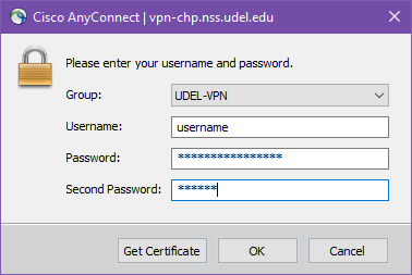 Cisco Anyconnect Client - Login Prompt